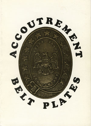 Accoutrement Belt Plates - the second book published to confuse collectors